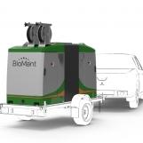 BioMant TWO auf Anhänger