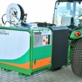 BioMant-Compact-BE mit Tank als Traktor-Anbaugerät
