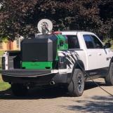 BioMant-Flex met slanghaspel op Pick-Up
