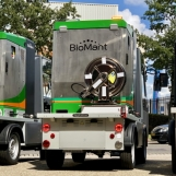 BioMant-ONE on electric cart