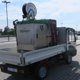 BioMant-ONE auf Elektrofahrzeug