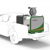 BioMant-Compact mit Tank auf Pickup