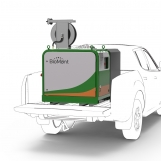 BioMant-Compact with tank on a Pickup