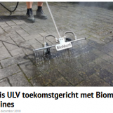 Stad+Groen: Mantis ULV toekomstgericht met Biomant machines