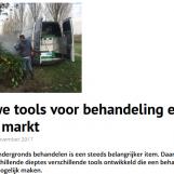 Stad+Groen: Nieuwe tools voor behandeling exoten op de markt