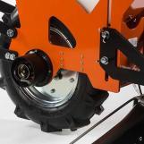Pumpe am Rad beim Flexomant-Modul