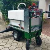 BioMant Herbi con carro eléctrico